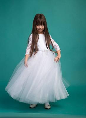 ada56b37489 Нарядное бальное детское подростковое платье для праздника, р.134-152
