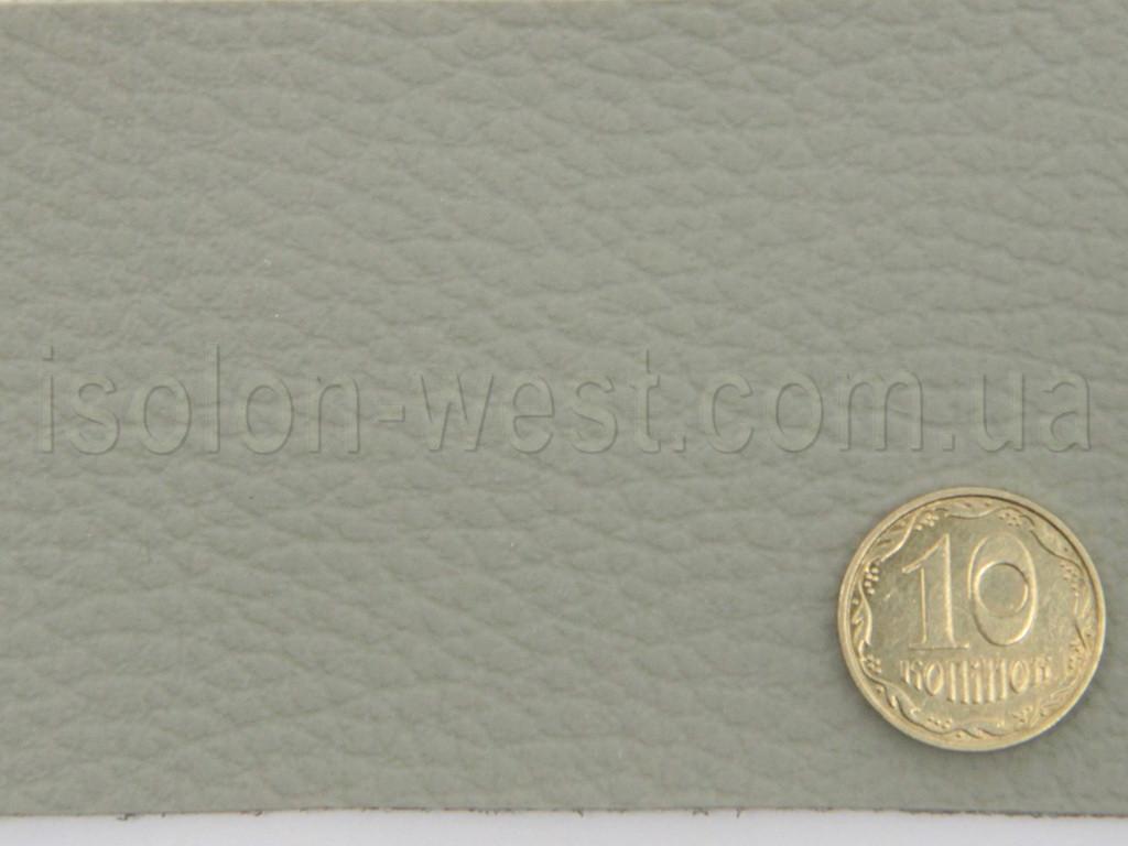 Авто кожзам , на тканевой основе,  серый с оттенком зеленого 1 мм. 148