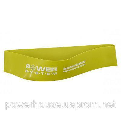 Замкнутая лента-эспандер Power System  PS-4062 Flex Loop Green, средний тип сопротивления