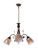 Люстра подвесная на три плафона (для гостиной) Sunlight 0314/3N