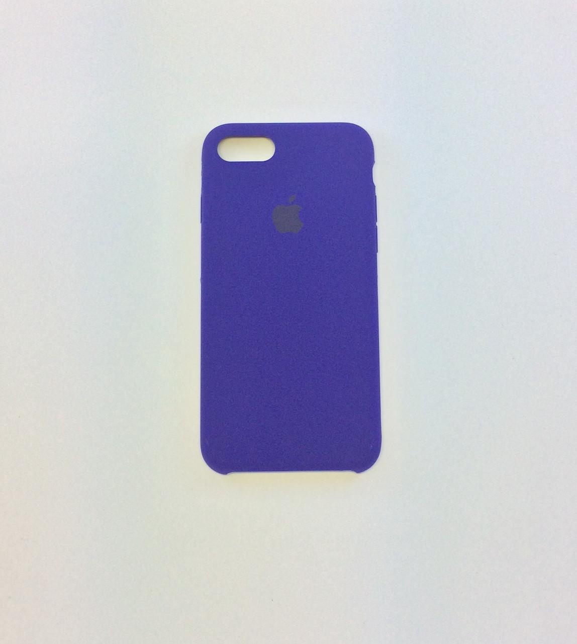 Силиконовый чехол для iPhone 8, - «ультрафиолет» - copy original