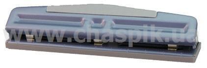 Діркопробивач Eagle металевий, потужність 12арк, на 3 отвори з регульованою відстанню отворів, d=7мм