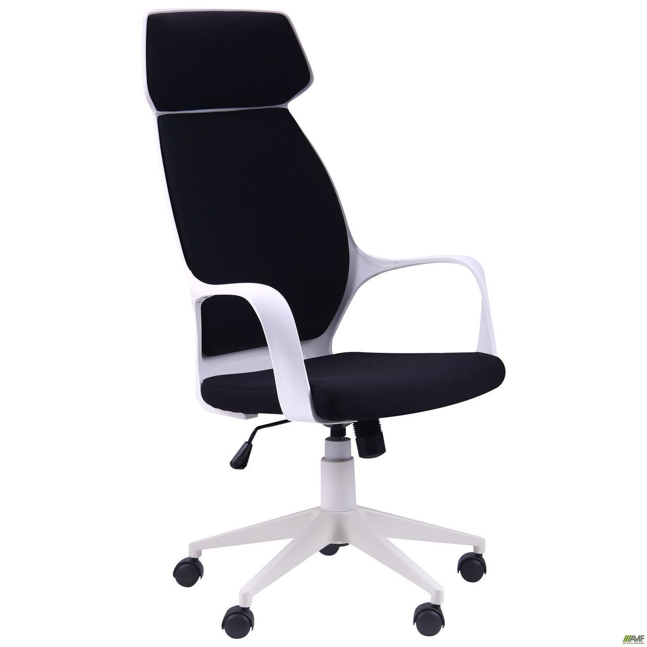 Кресло Concept белый, тк.черный TM AMF
