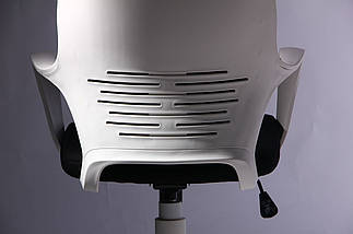Кресло Concept белый, тк.черный TM AMF, фото 3