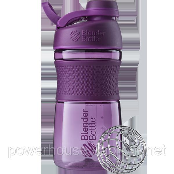 Спортивная бутылка-шейкер BlenderBottle SportMixer Twist 590ml. Оригинал. Цвета: White/Black/Navy/Teal/Plum