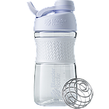Спортивная бутылка-шейкер BlenderBottle SportMixer Twist 590ml. Оригинал. Цвета: White/Black/Navy/Teal/Plum  , фото 6