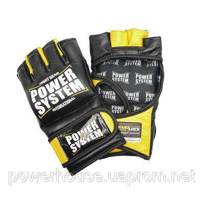 Перчатки для ММА Power System PS 5010 Katame Evo Black/Yellow S/M и L/XL