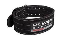 Пояс для пауэрлифтинга Power System Power Lifting PS-3800 Цвета: Black, Black/Grey, Black/Blue