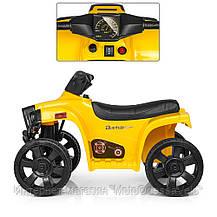 Электро квадроцикл Bambi жолтый, фото 2