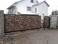 Ворота откатные консольные (MD-VKO-001)
