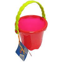 Игрушка для игры с песком и водой - МИНИ-ВЕДЕРЦЕ (цвет томатный)