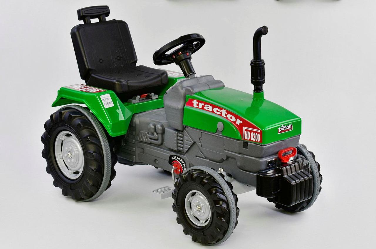 Трактор с педалями БОЛЬШОЙ 07-294 ЗЕЛЁНЫЙ 76443