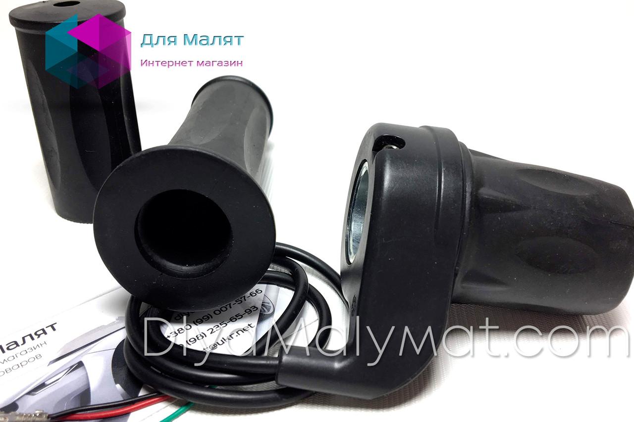Ручка газа без индикатора заряда аккумулятора 36V для детского квадроцикла Profi HB-6\Crosser