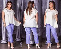 Женская модная блузка  НИ0187 (бат), фото 1