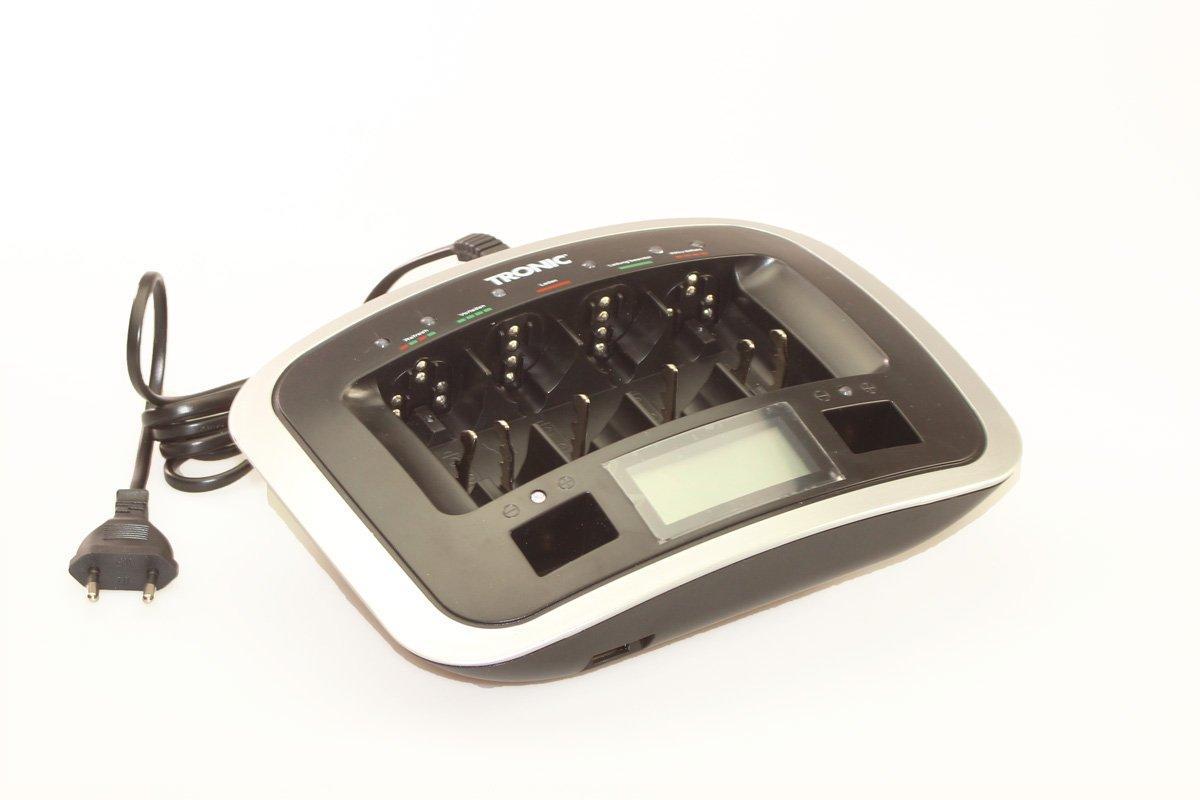 Професійне швидке зарядний пристрій батарейок Tronic