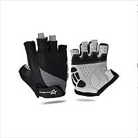 Велоперчатки RockBros, R1, размер L, чёрно-серые, фото 1