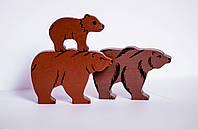 Сім'я ведмедів мама, тато, дитинча
