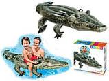 Детский надувной плот Intex 57551 Алигатор 170 х 86 см, фото 2