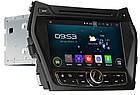 Штатное мультимедийное устройство для Hyundai SantaFe ix45 с 2013 г.в. AHR-2483 Android версии 4.4.4, фото 3