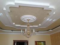 Изготовление фигурных потолков из гипсокартона