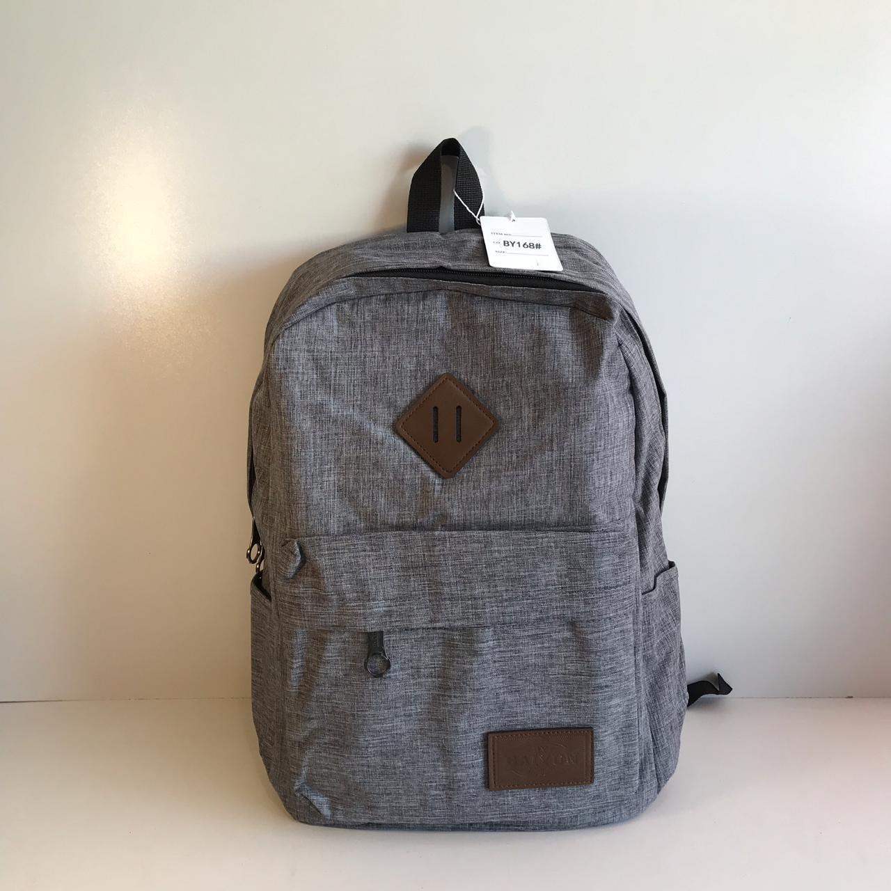 4cc2f2d174ff Мужской тканевый городской рюкзак серый, цена 370 грн., купить в ...