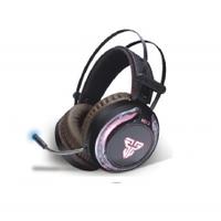 Игровые наушники с микрофоном Fantech HG12, Black, Color USB посветка, Box (253*200*118) 0,66кг