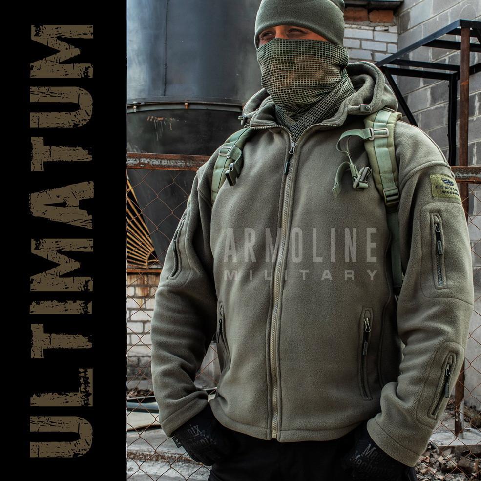 """Толстовка тактическая """"ULTIMATUM"""" OLIVE"""