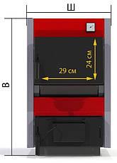 Котел ProTech ТТ-15с Standart+ твердотопливный , фото 2