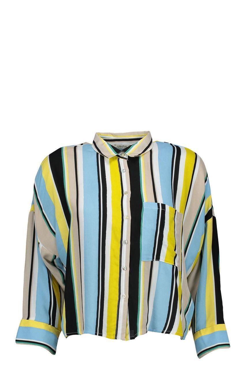Блузка рубашка женская в полоску