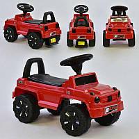 Машина-Толокар 809 V-10505 JOY (4) цвет КРАСНЫЙ, РУССКОЕ ОЗВУЧИВАНИЕ, СВЕТОВЫЕ ЭФФЕКТЫ, багажник