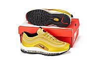 Кроссовки Nike Air Max 97 Gold, кроссовки в стиле найк 97