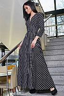 Платье женское длинное в пол SV 3376