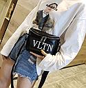 Сумка женская кросс-боди Valentino (черная), фото 6