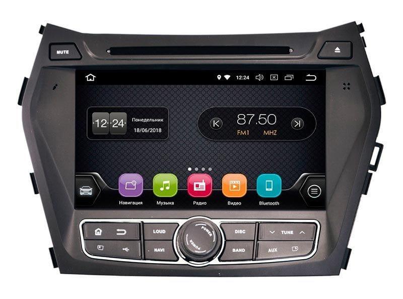 Штатна магнітола для Hyundai Santa Fe 2013+ (IX45) Incar TSA-2483 на Android 8 автомагнітола