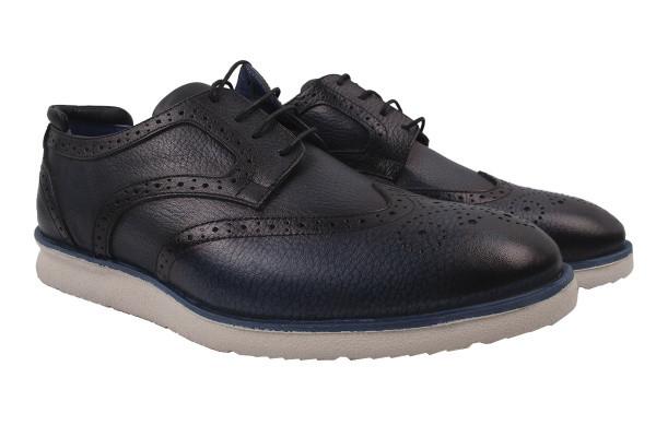 Туфлі комфорт Copalo натуральна шкіра, колір синій