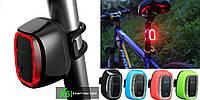"""Вело-габарит ТМ """"MEILAN"""" X6 (LIFETONE (BATFOX) L-967 / BASECAMP BC-425) датчик освещения / движения, USB"""