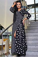 Платье женское длинное на запах SV 3374