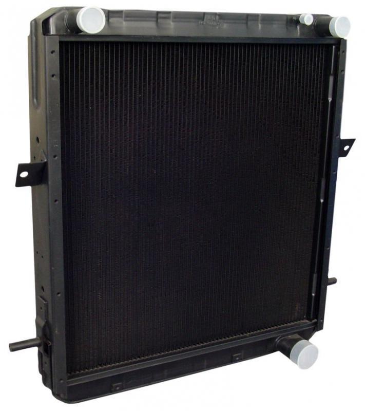 Радиатор вод. охлажд. КРАЗ (4-х рядн.) (пр-во ШААЗ), 6437-1301010-01