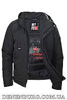 Куртка мужская демисезонная REMAIN 7734 тёмно-зелёная, фото 1