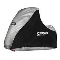 Oxford Aquatex MP3/3 Wheeler - Black/Silver Cover, Моточехол