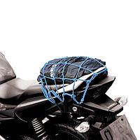 Oxford Cargo Net, Blue, Мотосетка багажная