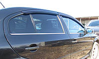 Хромированныемолдинги на стекла для Skoda Octavia Tour 1998-2010, Шкода Октавиа Тур