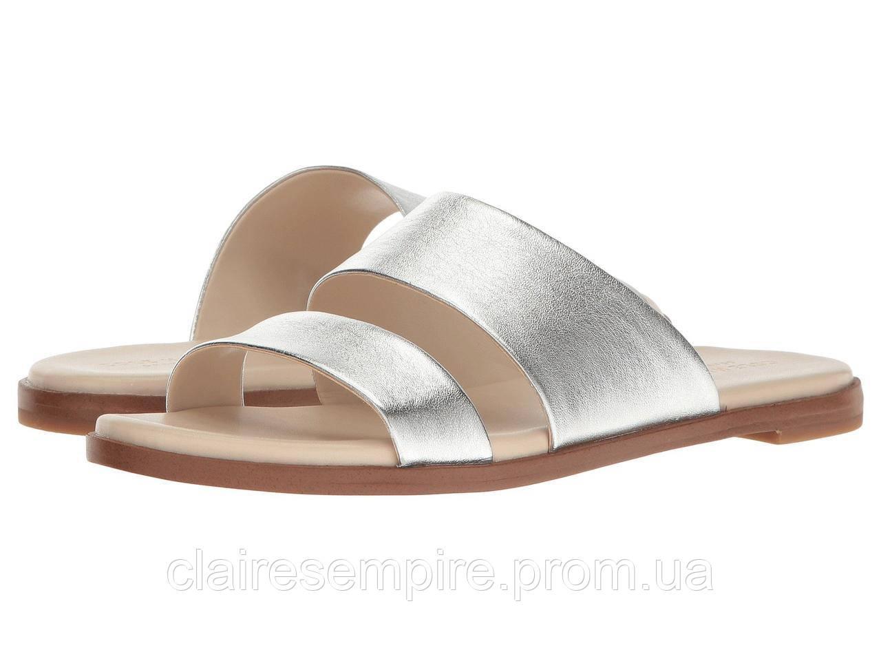 Кожаные сандалии Cole Haan, оригинал, Серебро 38