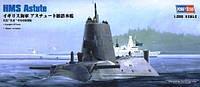 1:350 Сборная модель подводной лодки HMS Astute, Hobby Boss 83509