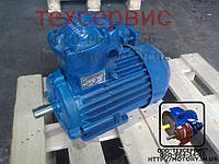 Электродвигатель взрывозащищенный АИММ100L6 2.2 кВт 1000 об/мин (2,2/1000), фото 1