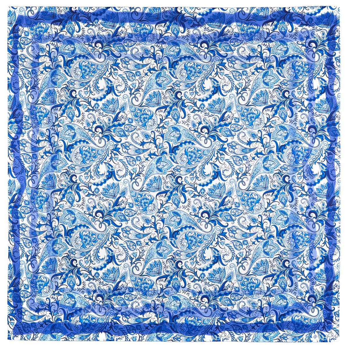 10510-13, павлопосадская скатерть хлопковая квадратная с подрубкой