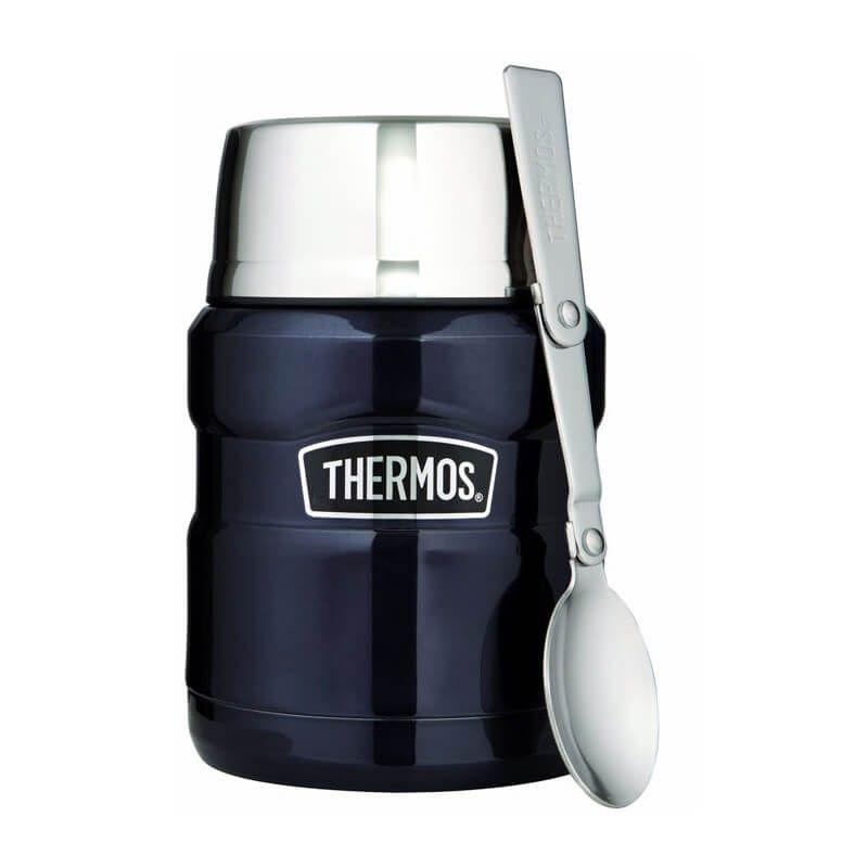 Термос для еды Thermos Stainless King Food Flask, Midnight Blue , 470 ml. (173020)