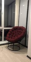 """Крісло """"Папасан"""" з техноротангу, садові меблі, меблі з ротангу, кресло для отдыха"""