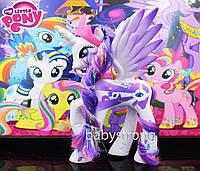Фигурка Пони 14 СМ My Little Pony Принцесса Рарити Мой маленький пони Игрушка для девочек Единорог