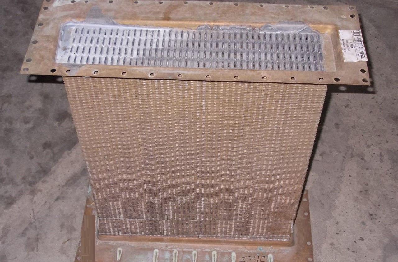 Серцевина радіатора ЮМЗ 5-і рядн. (мідь) (пр-во Туреччина), 45У.1301.020